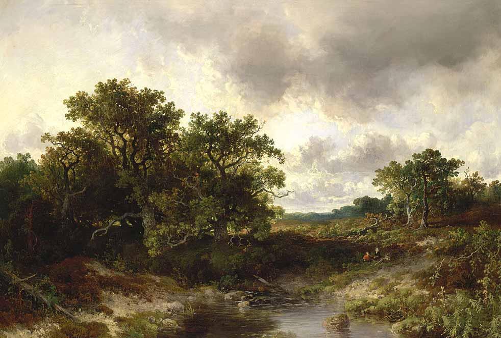 J.W. Bilders, Wodanseiken aan de beek in Wolfheze