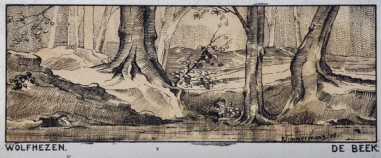 Schilder van de Veluwezoom H. Timmermans